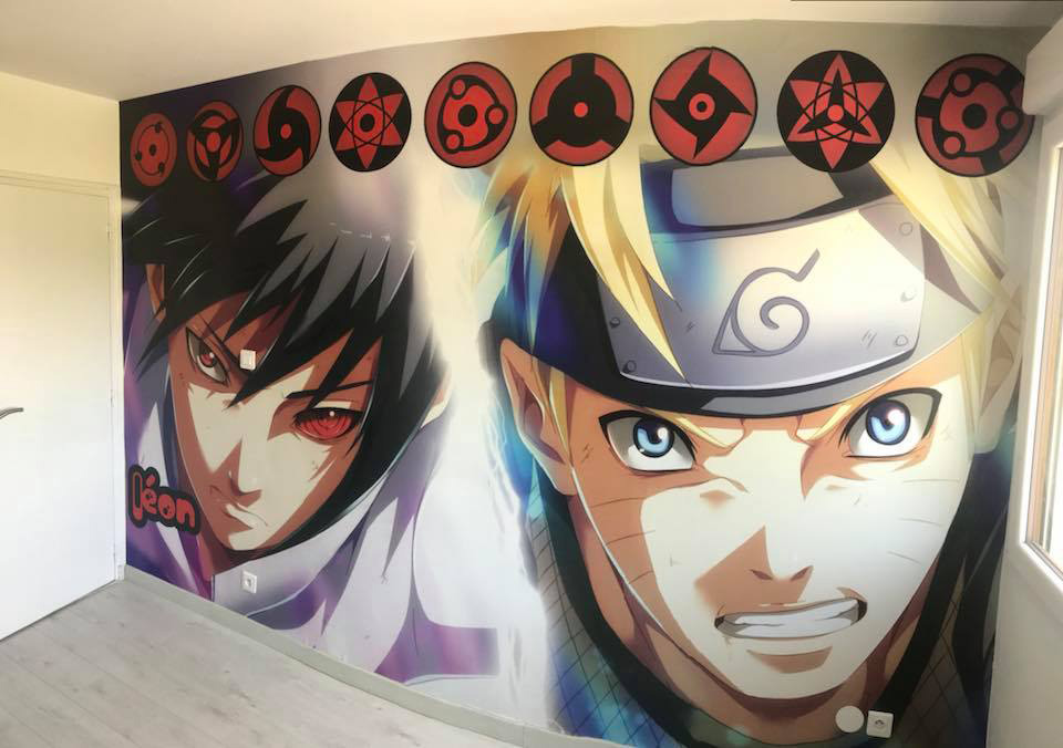 décoration-murale-naruto
