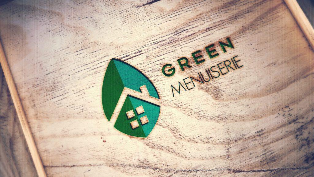 Logo Green Menuiserie