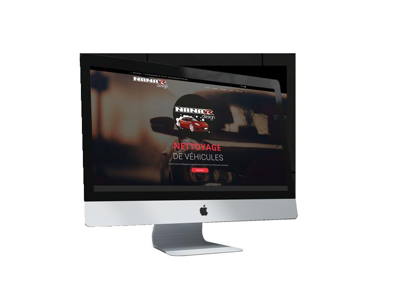 Création site internet NanarDesign